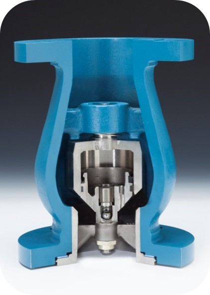 Axial Flow Valves Class 300 : Flanged check valves fluid technology