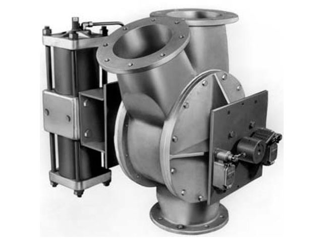 Valves For Dry Handling Diverter And Rotary Fluid
